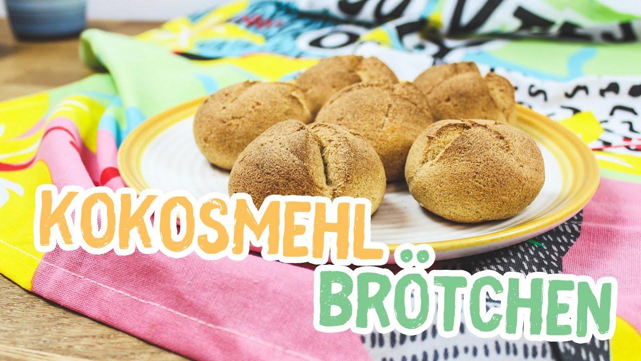 Kokosmehl-Brötchen