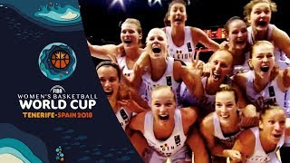 The Story Continues - FIBA Women's Basketball World Cup 2018