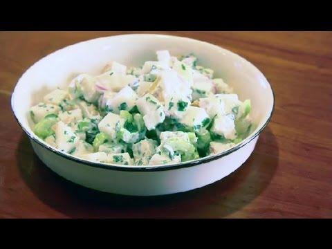 Italian Raw Potato Salad : Raw Food Recipes