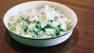 Italian Raw Potato Salad : Raw Food Recipes