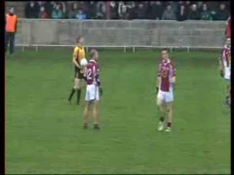 O'Connells Vs Na Fianna @ The Grove Field, Castlebellingham, Co Louth. November 2012