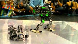 Robot Battle @58th Riko-Ten, Chrom-kid vs Corteju