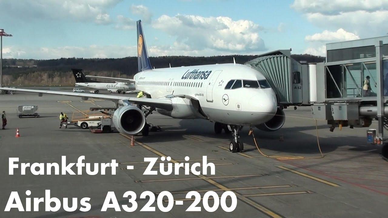 lufthansa airbus a320 200 flight lh1196 frankfurt z rich youtube. Black Bedroom Furniture Sets. Home Design Ideas