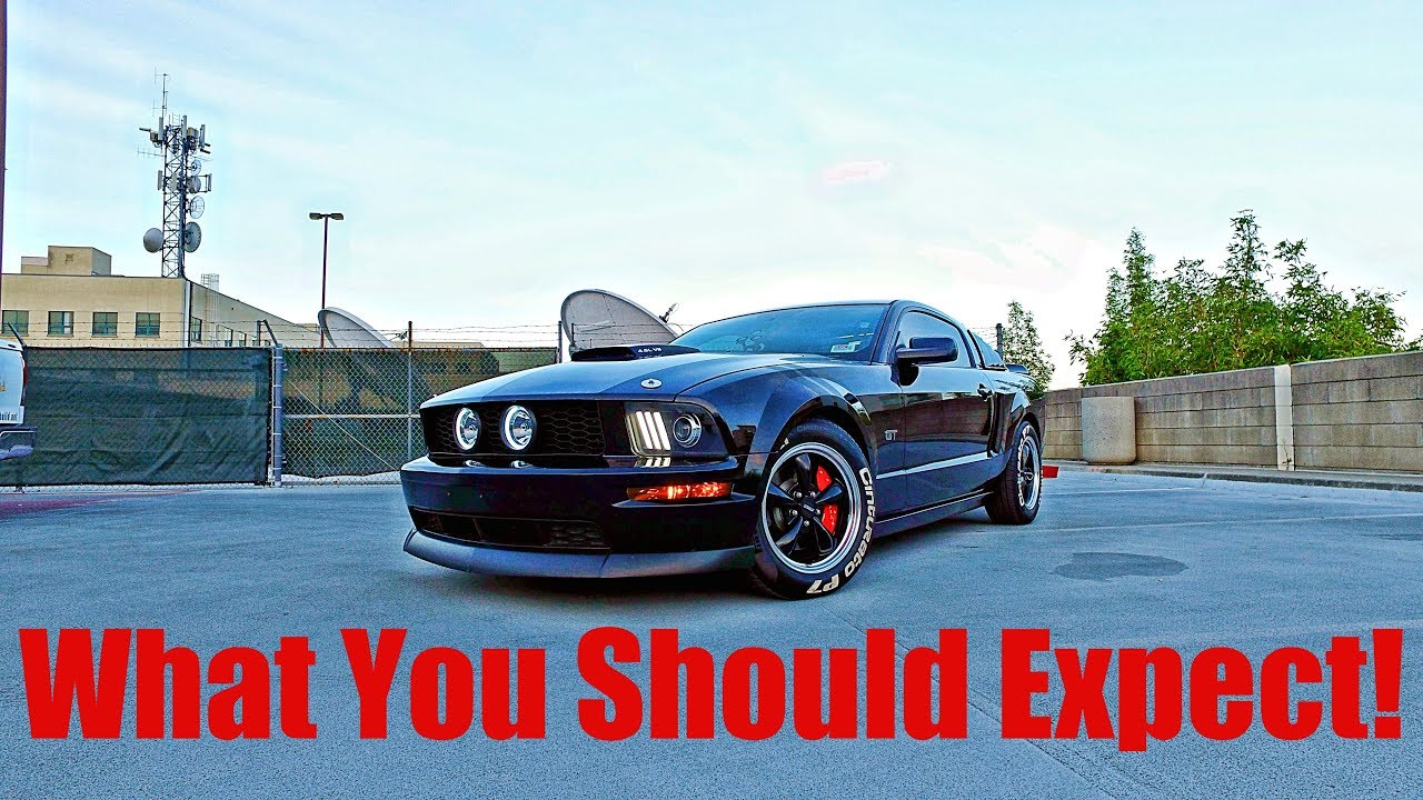 What You Should Expect When Ing A 2005 2009 Mustang