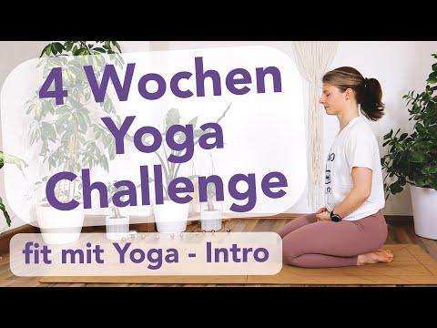 Neue Yoga Challenge | Body Shape Yoga Challenge | 4 Wochen Programm