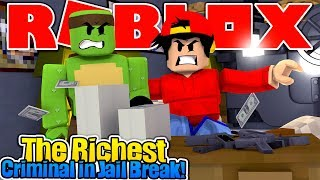 ROBLOX - ROPO IS THE RICHEST CRIMINAL IN JAIL BREAK!!