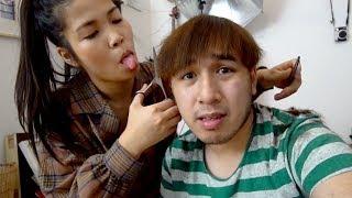 Freundin schneidet mir die Haare (fail)