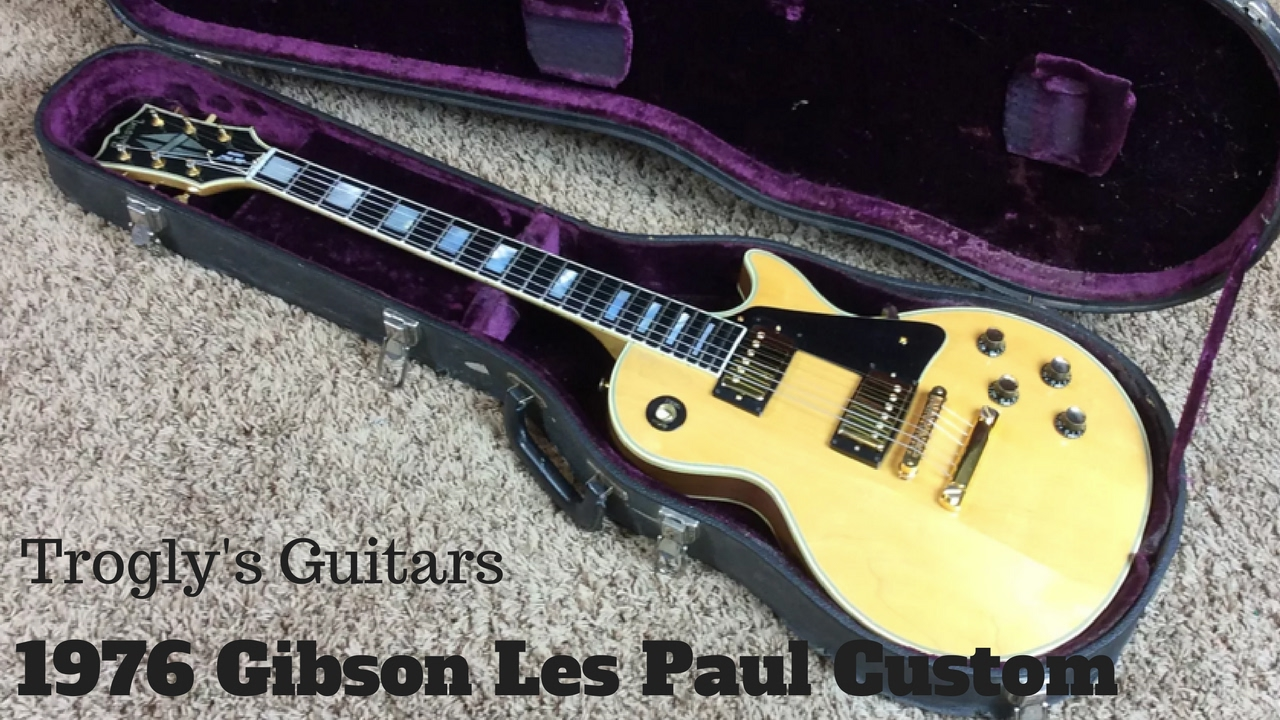 1976 gibson les paul custom natural a dream to realize youtube. Black Bedroom Furniture Sets. Home Design Ideas