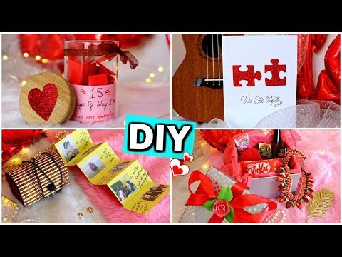 DIY - Last Minute Valentine's Day Gift Ideas for him/her ( Pinterest Inspired )