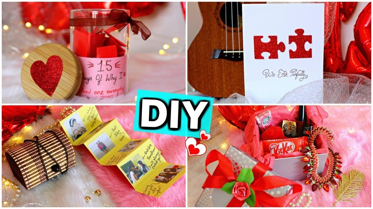 Diy Last Minute Valentine S Day Gift Ideas For Him Her Pinterest Inspired Youtube
