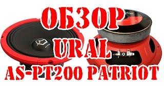 Обзор автомобильного среднечастотного динамика URAL Урал AS PT200 PATRIOT
