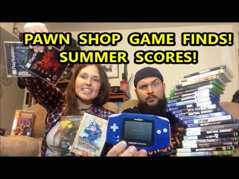 PAWN SHOP GAME FINDS!! HOT SUMMER SCORES! | Scottsquatch
