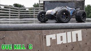 Traxxas E-Revo 2.0 RAINY DAY Skatepark Run | Overkill RC
