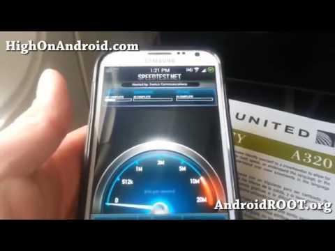 InFlight WiFi Speed Test!