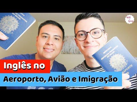 INGLÊS PARA VIAGEM - Aeroporto, Avião e Imigração no Canadá