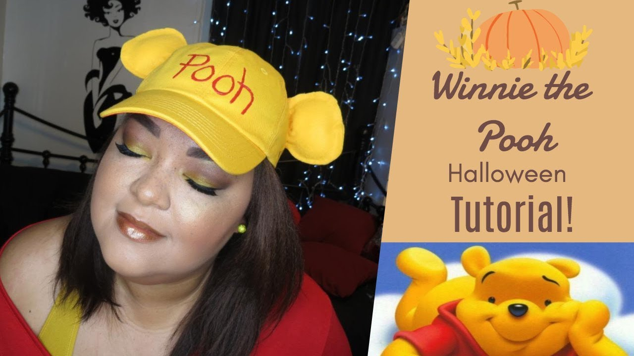 Winnie the Pooh Inspired Halloween Tutorial (Makeup and Costume ...