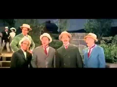 The Music Man - Barbershop Quartet