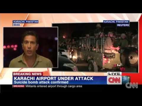 IMU, Taliban attack Karachi airport; 25 killed in clashes
