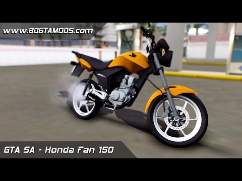 GTA SA - Honda Fan 150 + Coyote + Ronco [DOWNLOAD]