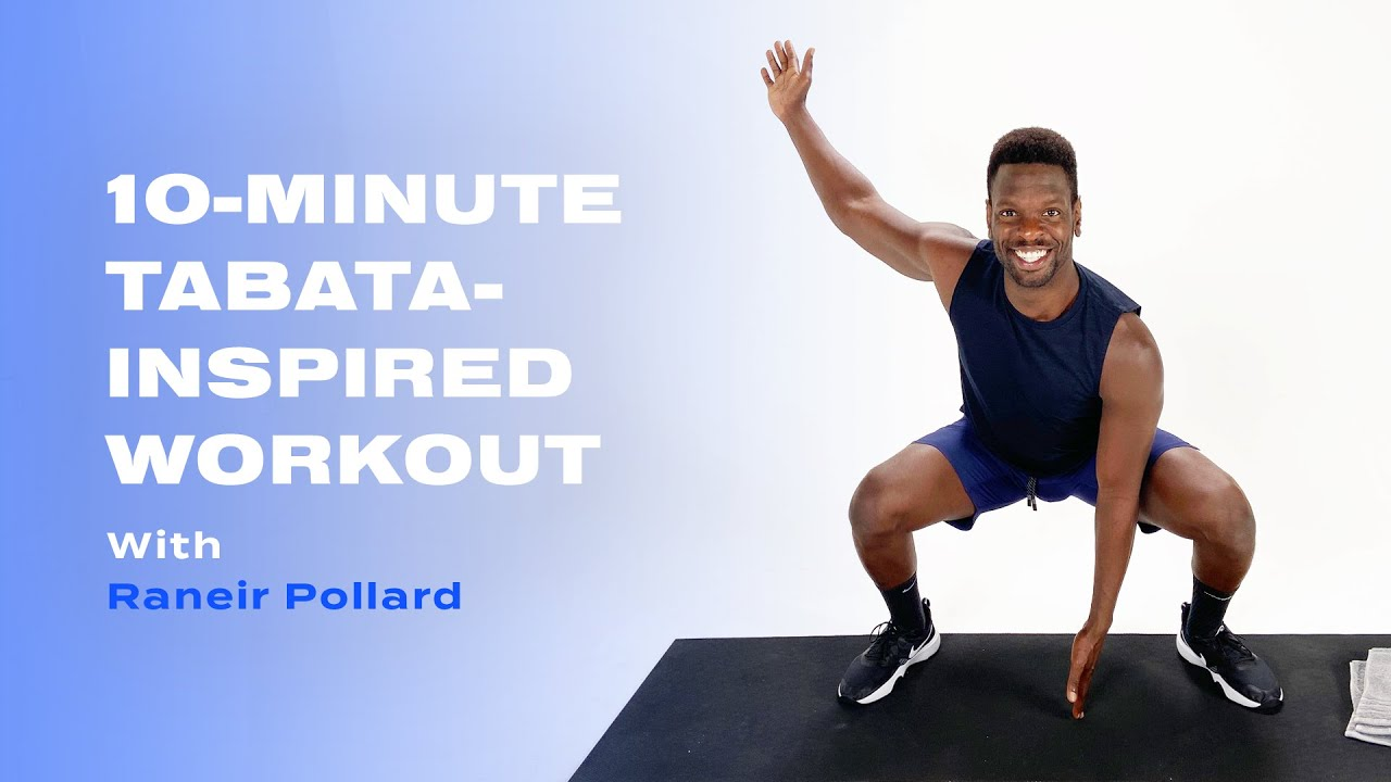 10-Minute Tabata-Inspired Workout With Raneir Pollard