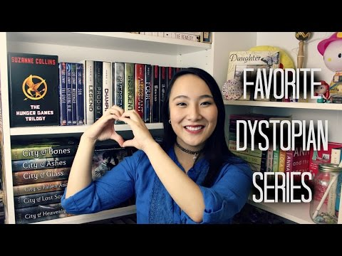 Top 5 FAVORITE YA DYSTOPIAN Book Series
