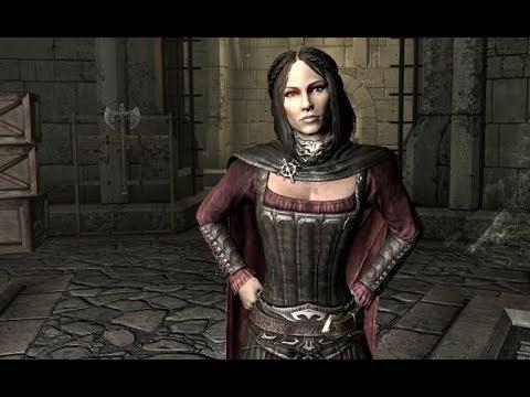 The Elder Scrolls V: Skyrim Special Edition Секрет как сделать серану человеком!!!