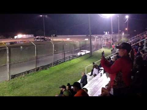 Factory Stock Feature part 2 Superbowl Speedway 3-18-17