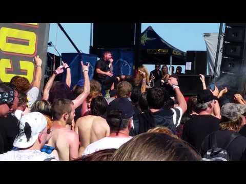 Suicide silence mayhem fest okc 2014