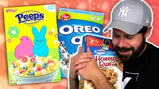 Irish People Try More American Cereals