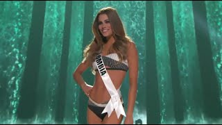 Ariadna Gutierrez Miss Colombia Preliminary Competition Miss Universe 2015 HD