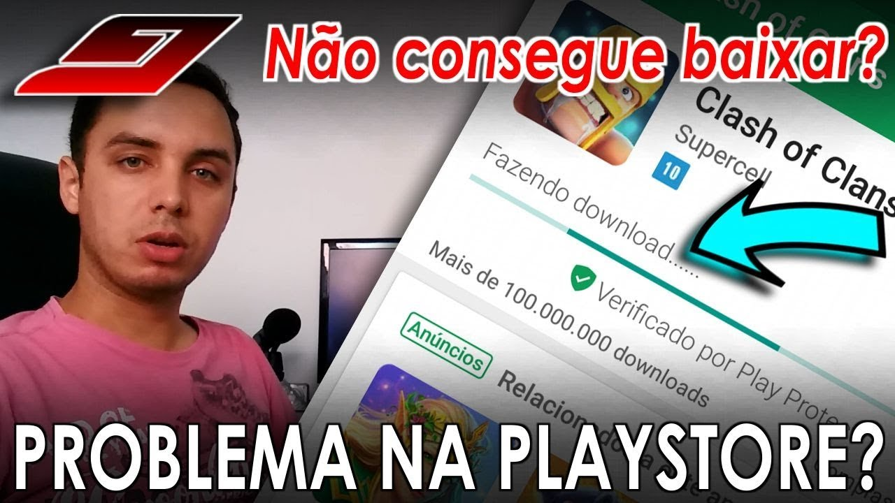 o que significa download pendente na google play store