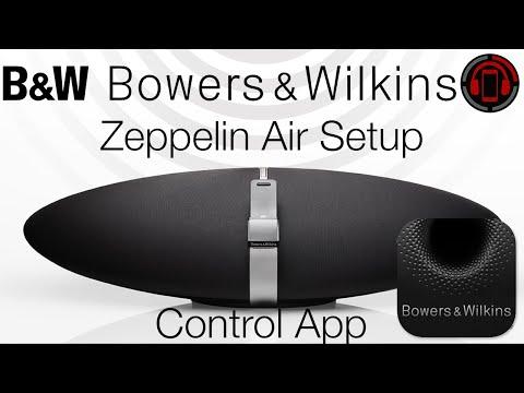 Bowers & Wilkins Zeppelin Air Wireless Setup [Deutsch/German