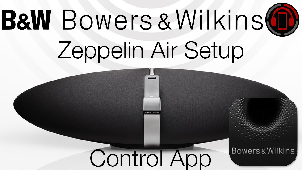 Bowers & Wilkins Zeppelin Air Wireless Setup [Deutsch/German]
