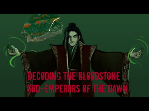 GAME OF THRONES / A SONG OF ICE AND FIRE -  THE BLOODSTONE EMPEROR - AZOR AHAI? BLOOD & GEMSTONES