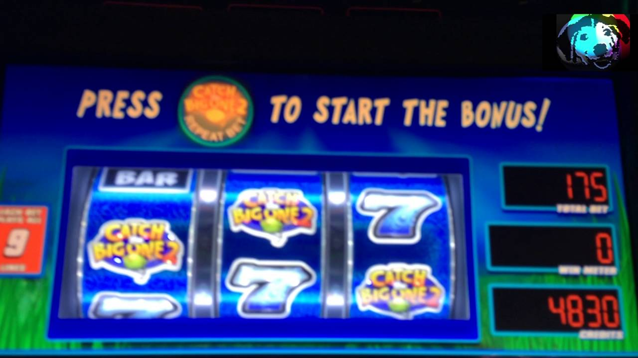 Reel Em In Catch The Big One Slot Machine Online