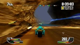 Extreme-G (Nintendo 64 Gameplay)
