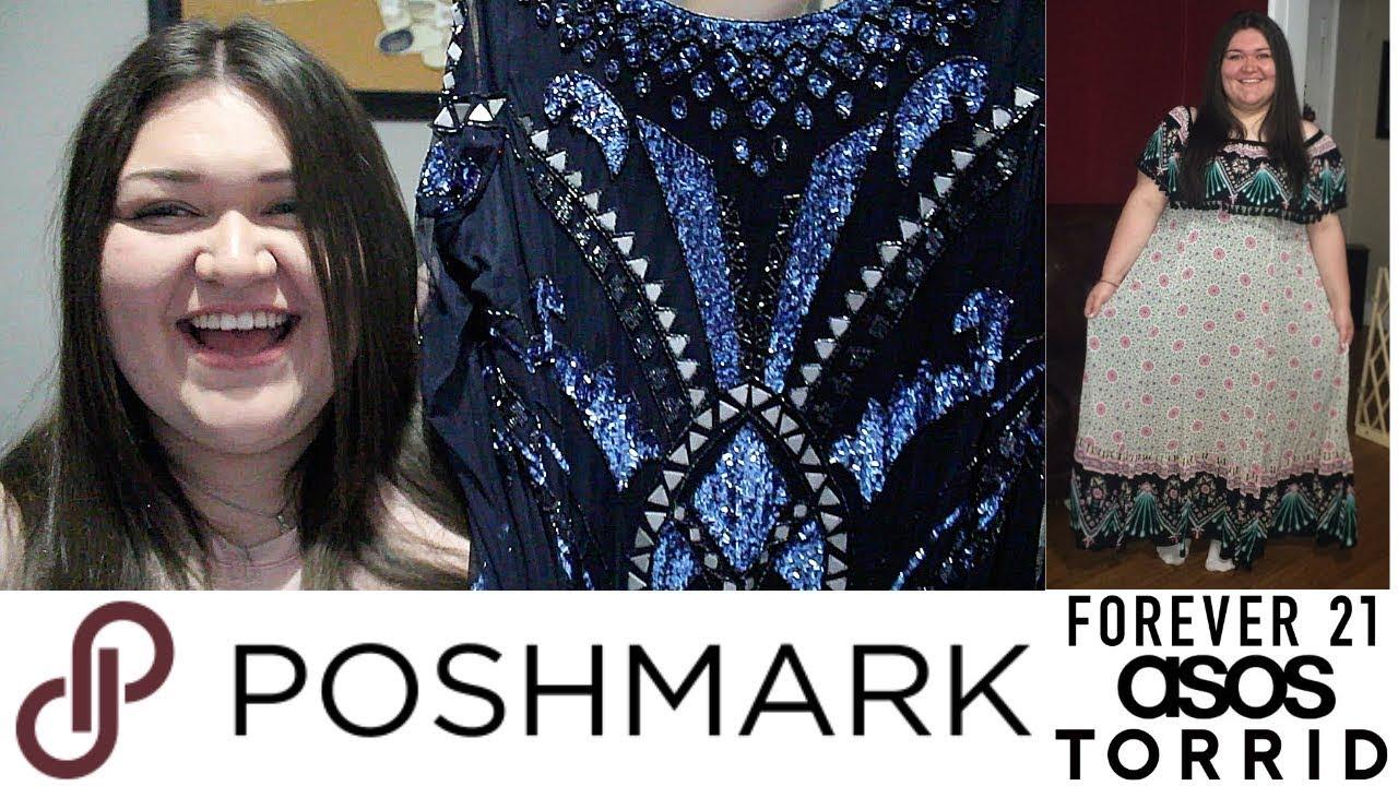 Plus Size Poshmark Closet Sale Torrid Forever 21 Asos Youtube