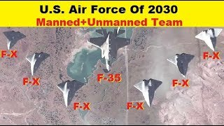 U.S. Air Force looks in 2030, Next Generation Air Dominance Concepts