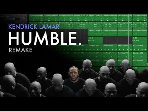 Making A Beat: Kendrick Lamar - HUMBLE. (Remake)