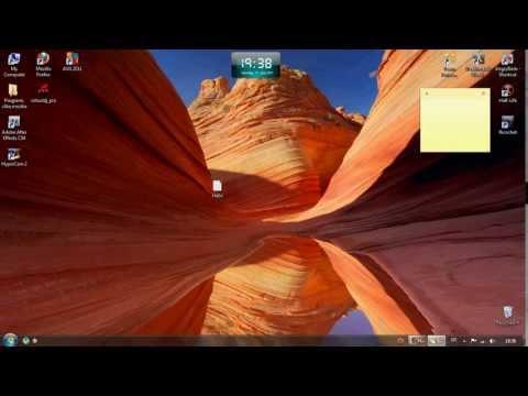 Sticky Notes (Windows7 Tutorial)