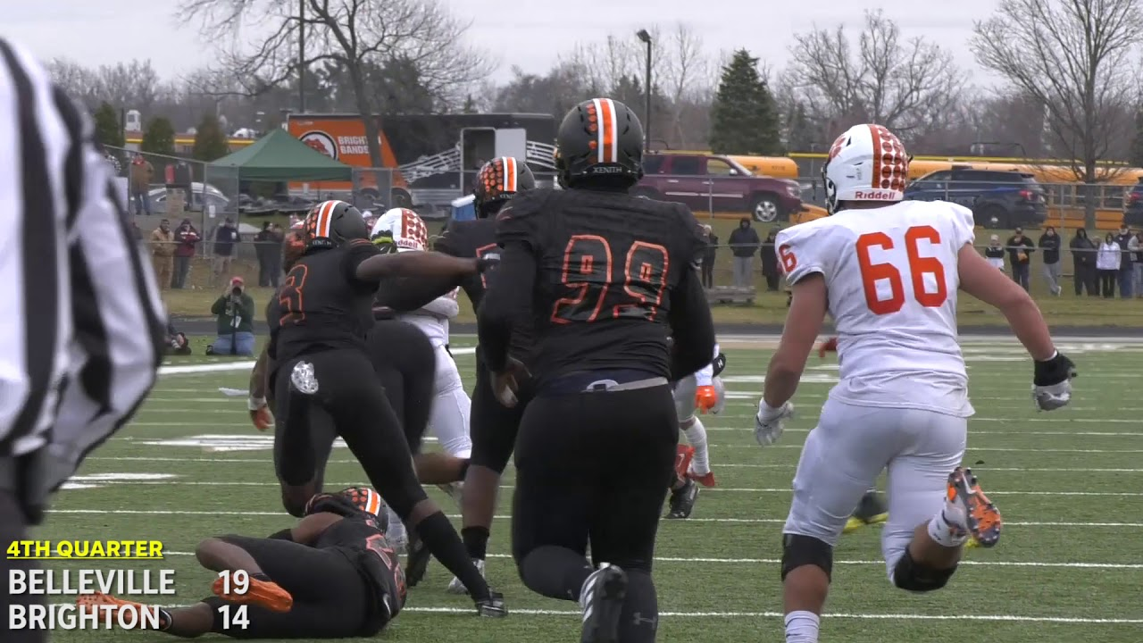 Brighton football stuns Belleville in MHSAA state semifinals: Watch the highlights