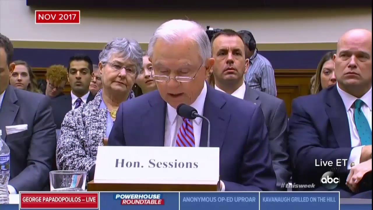 George Papadopoulos Tightens The Russia Noose Around The Neck Of Jeff Sessions