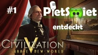 CIVILIZATION V # 1 - Hardi der Anfänger «»  Let's Play Civizliation V | HD