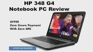Best Budget Laptop HP 348 G4 with i5 7th gen Intel