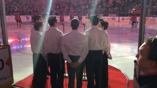 803a4145c JEC Choir Sings The National Anthem at The Devils Game February 27