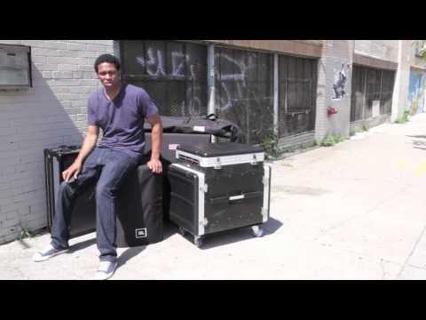 Keith Shocklee Showcases Gator Cases DJ ARM - 2 - (60 sec Spot)