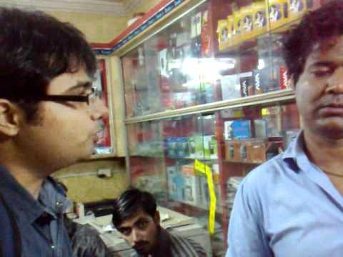 Interview of Uninor sim retailer at Lucknow - part1 ( Team M3, IIM Lucknow )