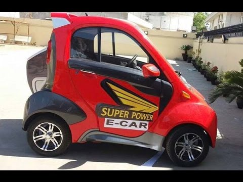 2 Seater Electric Car Now In Pakistan Youtube