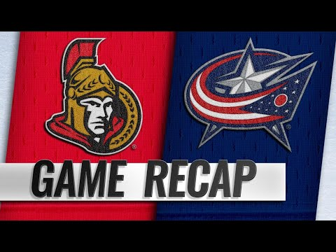 Werenski, Dubois lead Blue Jackets past Senators, 6-3