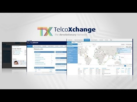 TelcoXchange Buy Bandwidth Sell Bandwidth and Telecom Equipment